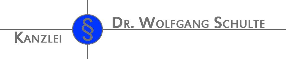 Rechtsanwaltskanzlei Dr. Wolfgang Schulte Ludwigshafen